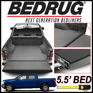 Bedrug Impact Liner Fit Truck Bed Mat For 2015 2019 Ford F 150 With 5 5 Bed