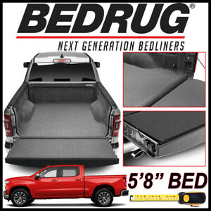 Bedrug Impact Liner Fit Bed Mat 2019 2020 Chevy Silverado 1500 W 5 8 Bed