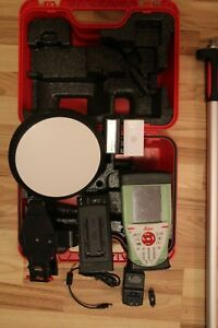 Leica Gs08 Gps glonass Rtk Set With Sc10 3 5g