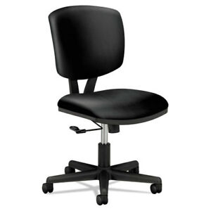 Volt Series Task Chair Black Leather