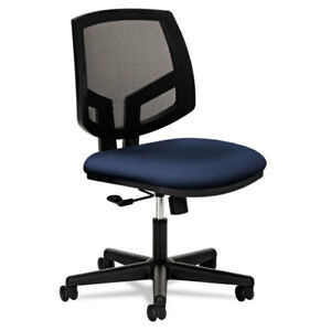 Volt Series Mesh Back Task Chair Navy Fabric