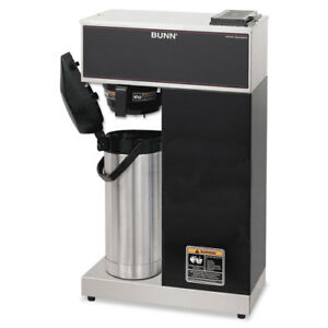 Vpr aps Pourover Thermal Coffee Brewer With 2 2l Airpot Stainless Steel Black