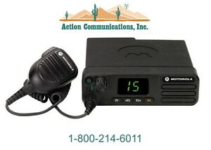 New Motorola Xpr 5350 Vhf 136 174 Mhz 25 Watt 32 Channel Two Way Radio