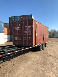 Shipping Containers 20 Foot Flat Rate Nationwide Delivery