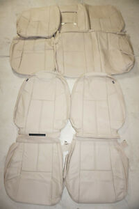 2010 2013 Chevrolet Silverado Crew Cab 1500 Ls Lt Factory Leather Seat Covers