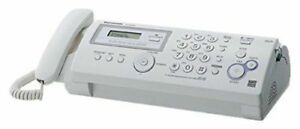 Panasonic Kx fp205 Plain Paper Compact Fax Copier Caller Id Thermal Transfer