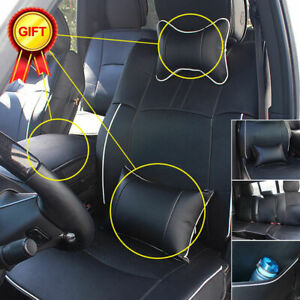 For Dodge Ram 1500 2500 3500 2009 2018 Car Seat Cover Full Set Front Rear Seat
