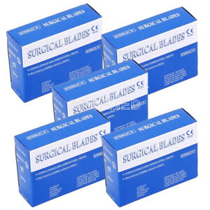 5 100pcs box Surgical Scalpel Blades For Dental Medical Instruments 11