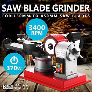 370w Circular Round Carbide Saw Blade Sharpener Grinding Grinder Machine 110v