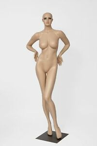 Stunning Sexy Large Bust Female Full Body Fiberglass Realistic Mannequin Fles