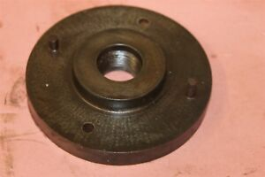 Lathe Backplate Face Plate 6 1 2 Diameter With 1 1 2 8tpi Threads