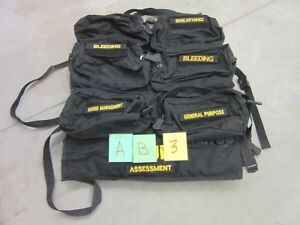 S o Tech Rammp t Trauma Medical Bag Kit Case Storage Military Surplus Emt