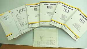 New Holland Boomer 41 Boomer 47 Tractor Service Overhaul Repair Manual W binder