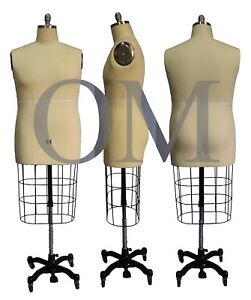 Male Professional Fashion Dressmaker Dress Form Size 44 Made By Om Profession