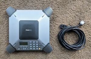 Panasonic Kx ts730s 8 microphone Conference Speaker Phone Business W Cable
