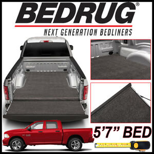 Bedrug Xlt Carpet Truck Bed Liner Mat Fits 2009 2018 Dodge Ram 1500 W 5 7 Bed