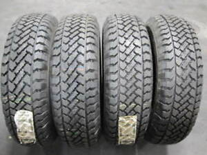 4 Pacemark Snowtrakker Radial S t2 245 75 16 245 75r16 Take Off Tires