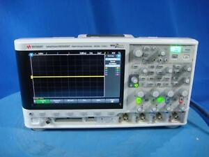 Agilent Keysight Dsox3034t Digital Oscilloscope W opt Advmath Memup Rml Sgm