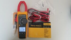 Lightly Used Fluke 374 True Rms Ac dc Clamp Meter With Manual Tp 239385