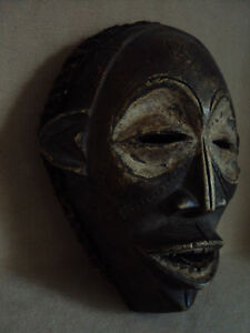 Sale Was 229 Chokwe Mask Headdress African Carving Large