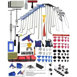 Paintless Dent Repair Puller Lifter Tools Rods Line Board Hail Removal Tail Set