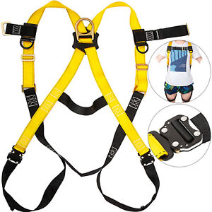 Vevor Safety Harness 1d Ring Fall Protection Full Body Construction Harness