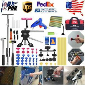 Pdr Tool Car Dent Repair Tools Paintless Hail Puller Lifter Auto Dent Removal Us