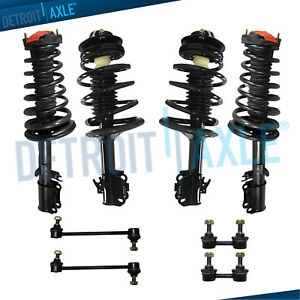 For 1992 1994 Toyota Camry Sedan Coupe 2 2l Front Rear Struts Spring Sway Bar