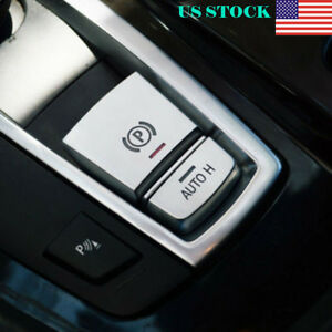 Parking Brake Switch P Button Cover Trim Silver For Bmw X3 X4 X5 X6 Series5 7 Us