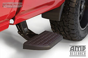 Amp Research Bedstep 2 Retractable Step For 2007 2019 Toyota Tundra Crewmax Cab