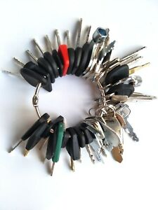 46 Keys Heavy Equipment Construction Ignition Key Set