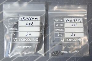 Toko Tk11130bmcl And Tk11133bmcl Linear Voltage Regulator 3 0v 3 3v Qty 20 Ea