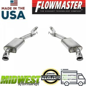 Flowmaster Fx Axle Back Exhaust System Fits 2015 2017 Ford Mustang Gt 5 0l V8