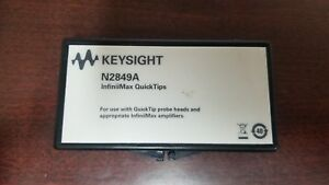 Keysight N2849a Infiniimax Probe Quick Tips Lot Of 2