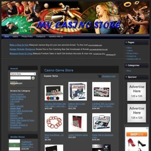 Casino Store Top Dropship Website Faster Return On Investment Free Domain