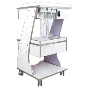 Mobile Tool Cart Dental Trolley With Plug Auto water Bottle Supply Fit Scaler