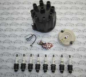 1959 1967 Buick Ignition Tune Up Kit Cap Rotor Points Condenser 8 Delco Plugs