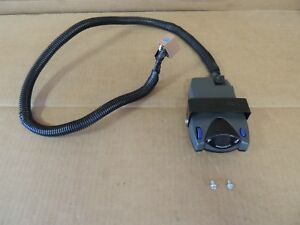 Prodigy 90185 Electric Trailer Brake Controller W gm Adapter Plug for 1 4 Axle