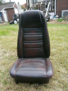 1969 1970 Ford Mustang Passenger Side Right High Back Mach 1 Bucket Seat