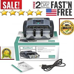 Electronic Money Counter Machine Cash Bill Counting Uv Detection Automatic Count