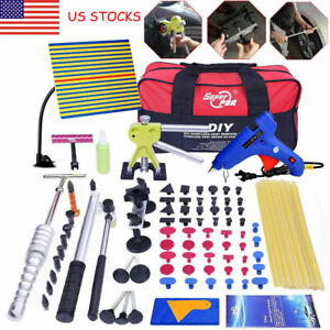 97 Pdr Tools Dent Puller Lifter Paintless Hai Ding Removal Repair Hammer Kits