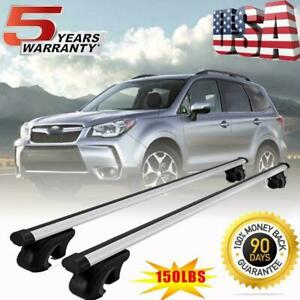 For Subaru Forester 2008 2019 Roof Rack Cross Bars Luggage Carrier Oem Replace