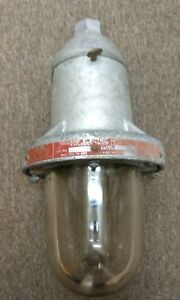 Killark Explosion Proof Lamp Light Fixture 150 Watts