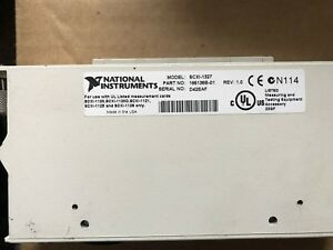 National Instruments Scxi 1327 High Voltage Attenuator Terminal Block 182363b 01