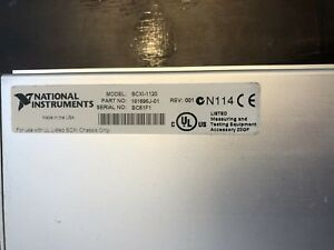 National Instruments Scxi 1120 8 channel Isolation Amplifier 181695j 01