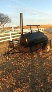 Smoker Trailer Bbq Pit very Large