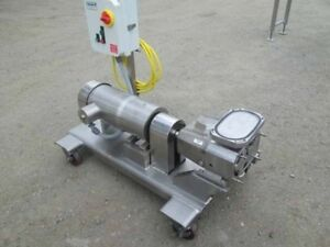 Viking Coker Positive Displacement Pump Model Sq3l Tri Clamp In out Pharma Grade