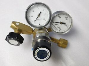 Middlesex Gas 3201 1 350t4 Steel brass Pressure Regulator 3 0 4000 Psi Gauges