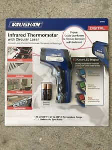 Vaughan Infrared Thermometer With Circular Laser