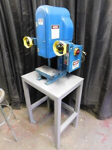 Kenco 3 Ton Power Stamping Punch Press W 1 1 4 Stroke 2 Hand Controls 115v